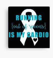 Cardio Canvas Print