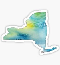 New York is my Home 2 Sticker