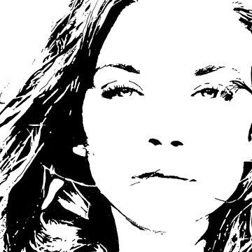 High Contrast Natalie Dormer by rosem-arts