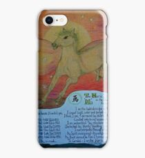 the horse, ;- chinese horoscopes, your year iPhone Case/Skin
