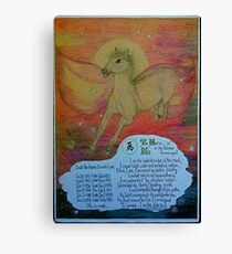 the horse, ;- chinese horoscopes, your year Canvas Print