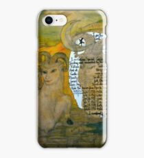 The Sheep.;- Chinese Horoscopes, Your Year. iPhone Case/Skin