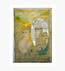 The Sheep.;- Chinese Horoscopes, Your Year. Art Print