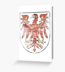 Brandenburg coat of arms Greeting Card