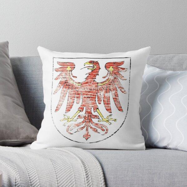 Brandenburg coat of arms Throw Pillow