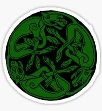 Celtic rond Green Sticker
