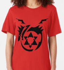Black Homunculus Symbol Fullmetal Alchemist Slim Fit T-Shirt