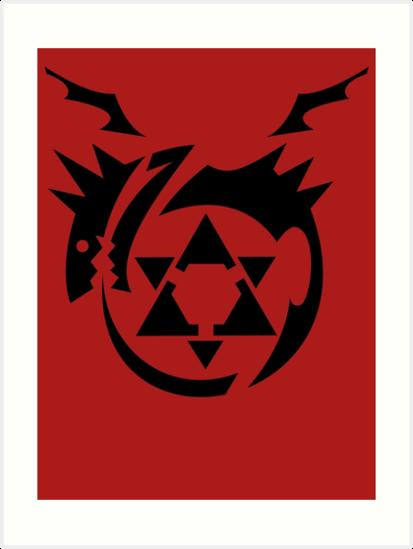 Fullmetal Alchemist Homunculus Symbol