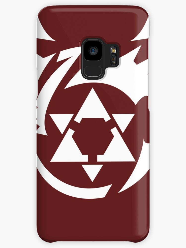 White Homunculus Symbol Fullmetal Alchemist Cases Skins For
