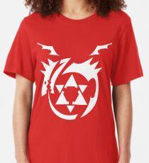 White Homunculus Symbol Fullmetal Alchemist Slim Fit T-Shirt