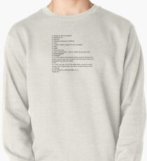 Stranger Things Mike and Eleven Pullover