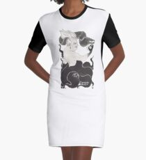 Ursula Graphic T-Shirt Dress
