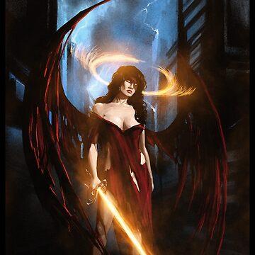 Angel of Tatters 001 by Sokoliwski