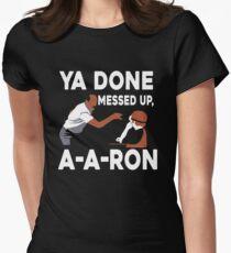 Camiseta entallada para mujer Ya hecho desordenado