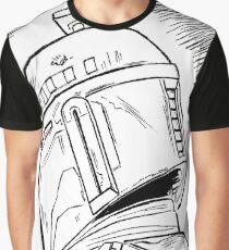 Helmet Shot Graphic T-Shirt