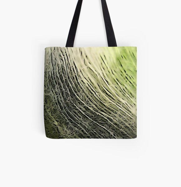 Threads All Over Print Tote Bag