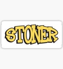 Stoner Weed Marijuana Cannabis Sticker
