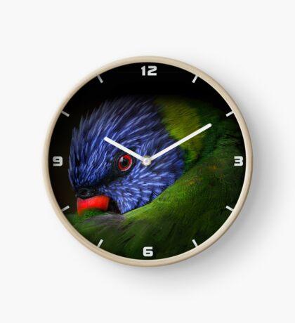 lorikeet Clock