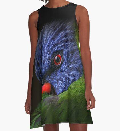 lorikeet A-Line Dress