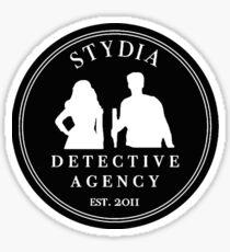 Stydia Detective Agency - Teen Wolf Stiles & Lydia Sticker