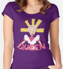 Queen Cynthia Women's Fitted Scoop T-Shirt