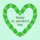 Happy St. Patricks Day Heart by FrankieCat