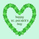 Happy St. Patricks Day Heart by FrankieCat