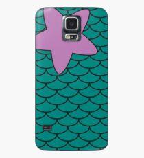 Meerjungfrau Print Hülle & Klebefolie für Samsung Galaxy