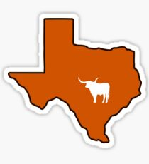 Austin Texas Longhorn Sticker