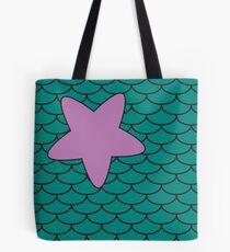 Mermaid Print  Tote Bag