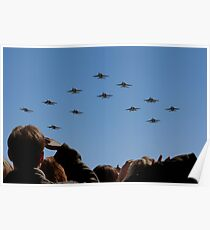 F 18 Jets Returning Home Poster