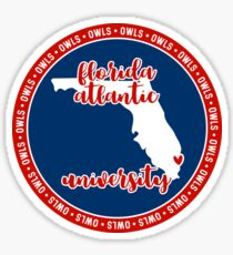Florida Atlantic University - Style 15 Sticker