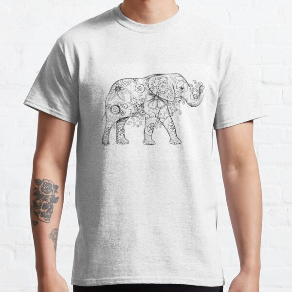 Decorated Elephant Classic T-Shirt