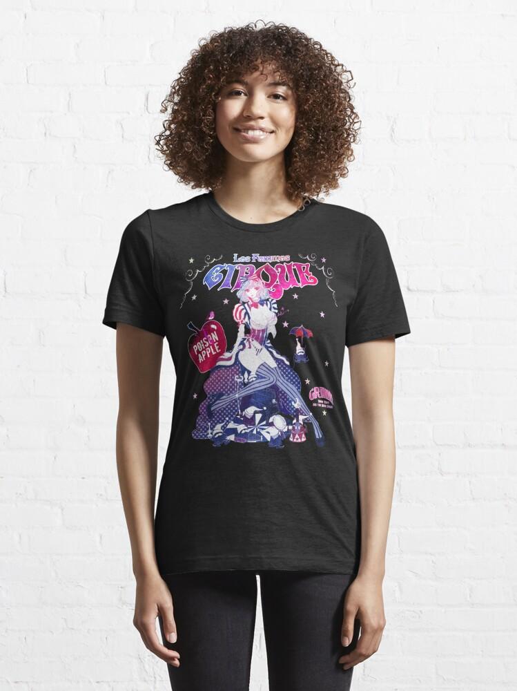 Alternate view of Snow White: Les Femmes Cirque Essential T-Shirt