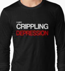 Depression Long Sleeve T-Shirt