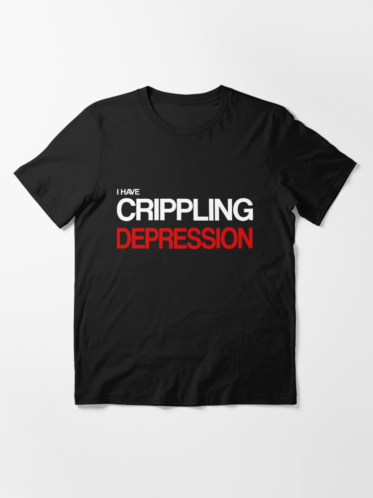 Alternate view of Depression Essential T-Shirt
