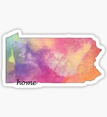 Pennsylvania is my Home 2 Sticker