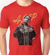 A$AP Rocky Gold Signature Unisex T-Shirt