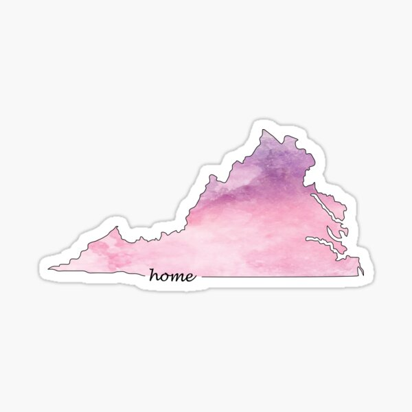 Virginia is my Home 2 Sticker