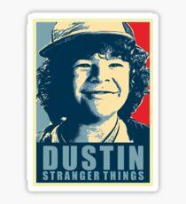 Dustin is My Hero Sticker