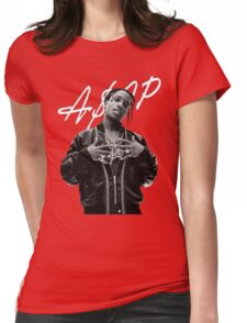 A$AP Rocky White Signature Womens Fitted T-Shirt