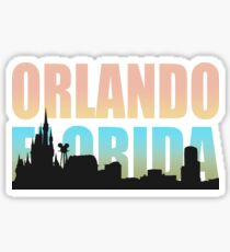 Orlando Florida Happiest City In The USA Sticker