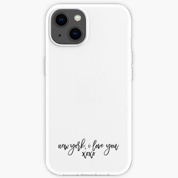 NY, I love you.  iPhone Soft Case