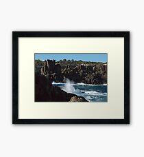 Bombo Quarry NSW Australia Framed Print
