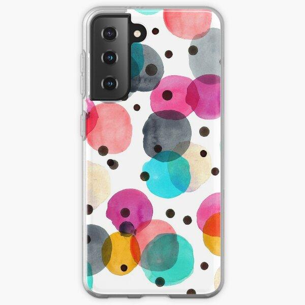 Festive Dots Samsung Galaxy Soft Case