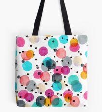 Festive Dots Tote Bag