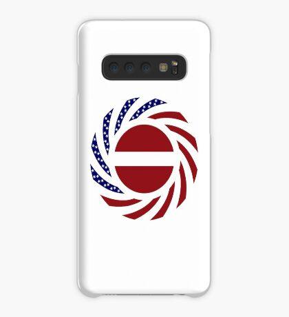 Latvian American Multinational Patriot Flag Series Case/Skin for Samsung Galaxy