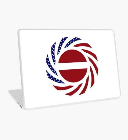 Latvian American Multinational Patriot Flag Series Laptop Skin