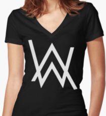 Alan Walker - Faded Women's Fitted V-Neck T-Shirt