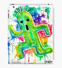 Cute Cactuar - Running Watercolor - Final fantasy - Jonny2may - Awesome!  iPad Case/Skin